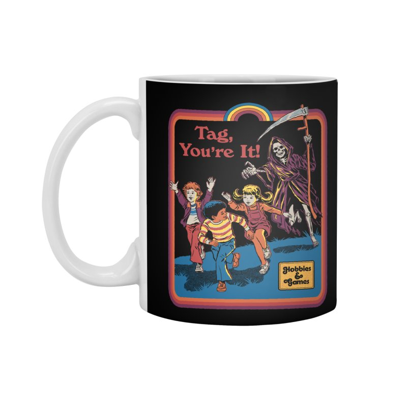 Tag, You're It! Accessories Standard Mug by Steven Rhodes