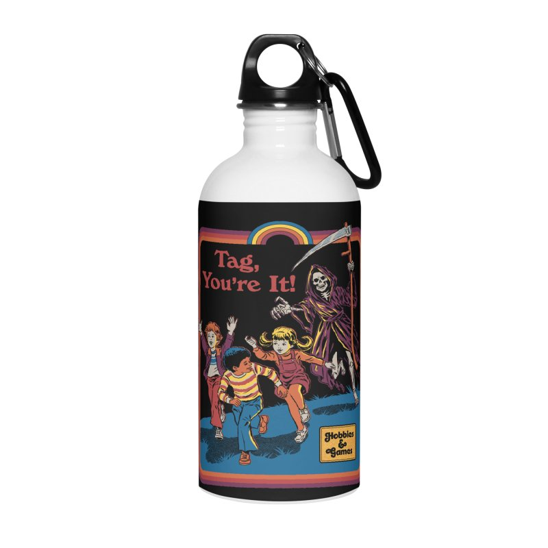 Tag, You're It! Accessories Water Bottle by Steven Rhodes