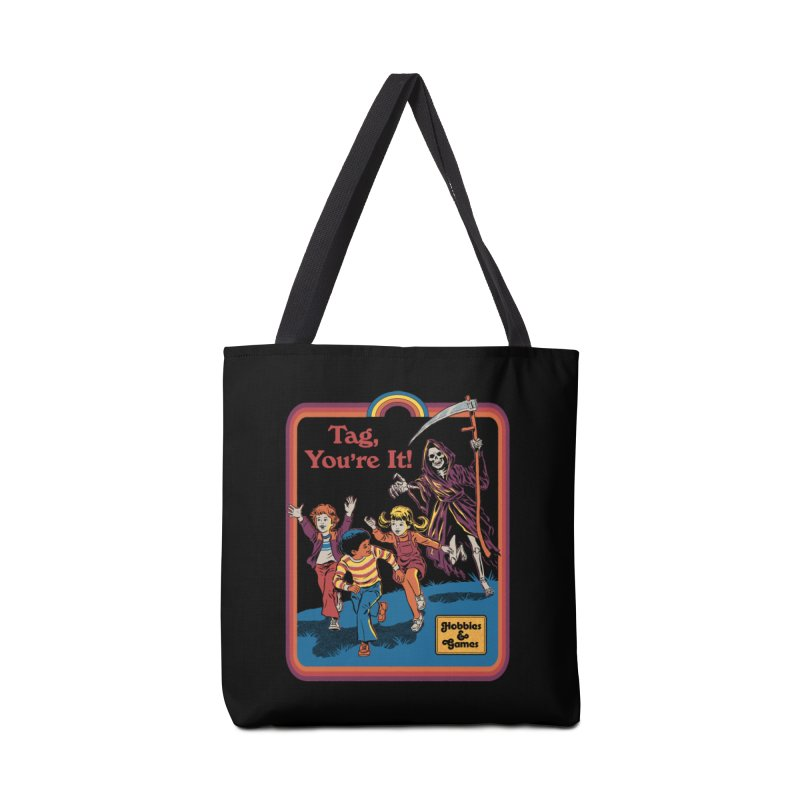 Tag, You're It! Accessories Tote Bag Bag by Steven Rhodes