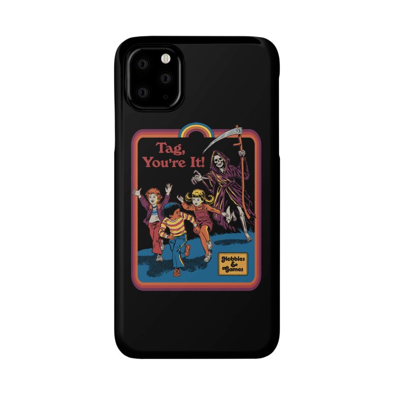 Tag, You're It! Accessories Phone Case by Steven Rhodes