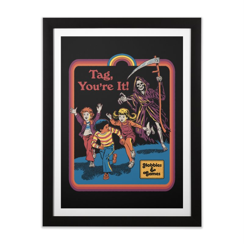 Tag, You're It! Home Framed Fine Art Print by Steven Rhodes