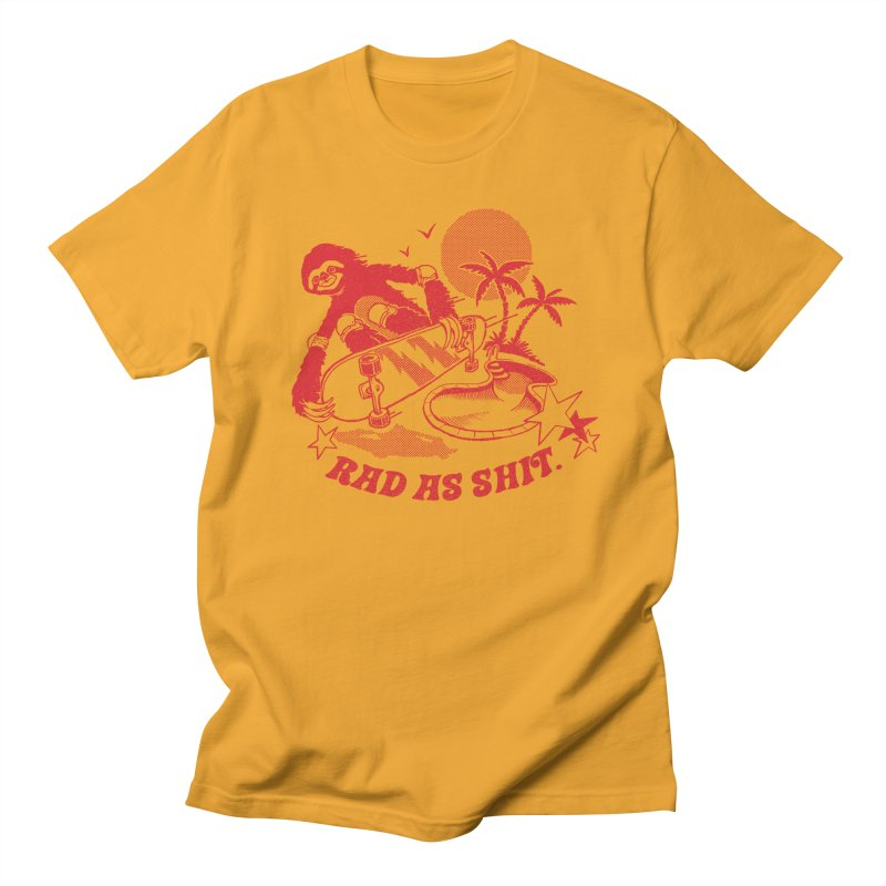 Rad as Sh*t Men's T-shirt by Steven Rhodes