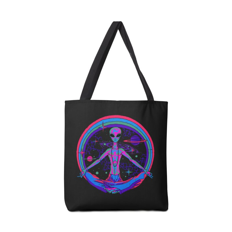 We Come in Peace Accessories Bag by Steven Rhodes