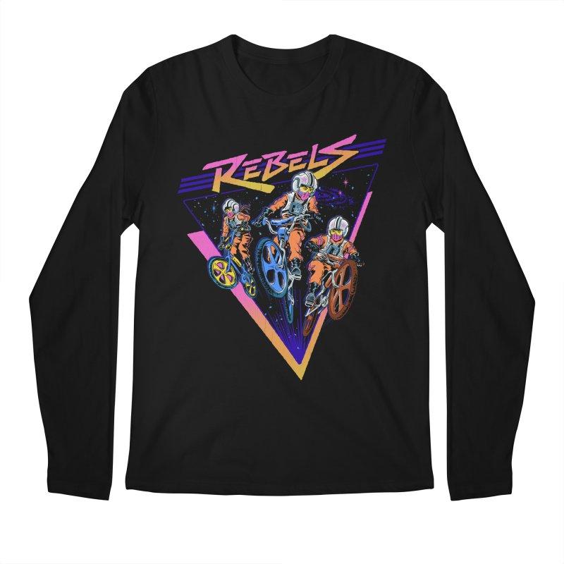 BMX Rebels Men's Longsleeve T-Shirt by Steven Rhodes