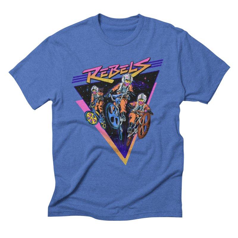 BMX Rebels Men's Triblend T-shirt by Steven Rhodes