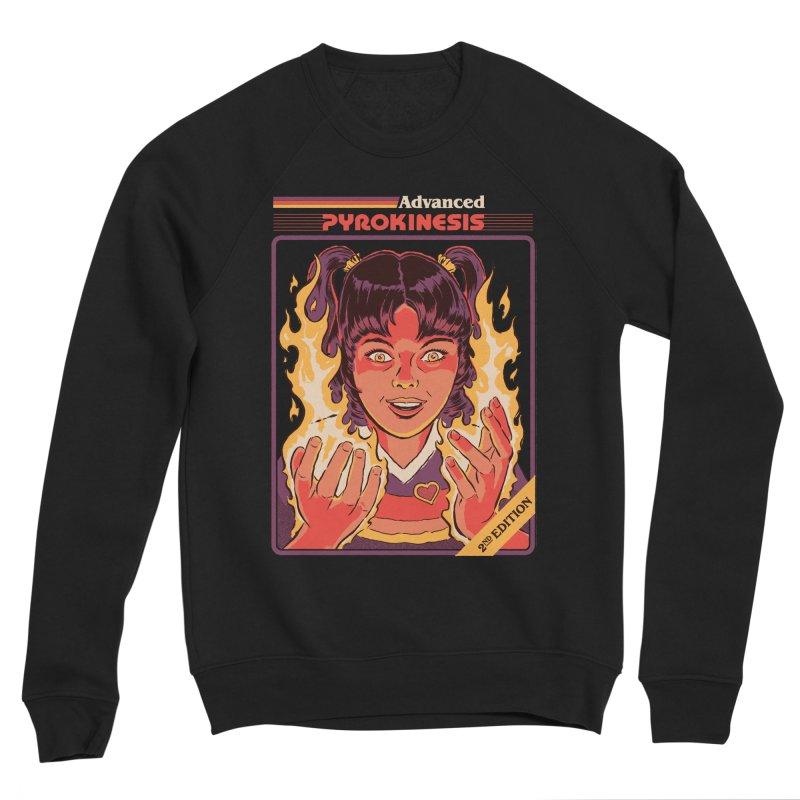 Advanced Pyrokinesis Women's Sponge Fleece Sweatshirt by Steven Rhodes