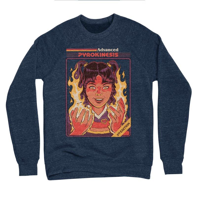 Advanced Pyrokinesis Men's Sponge Fleece Sweatshirt by Steven Rhodes