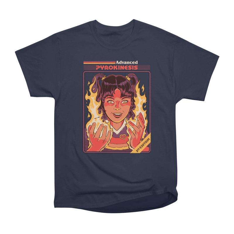 Advanced Pyrokinesis Men's Heavyweight T-Shirt by Steven Rhodes