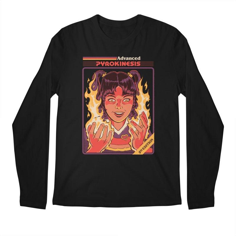 Advanced Pyrokinesis Men's Regular Longsleeve T-Shirt by Steven Rhodes