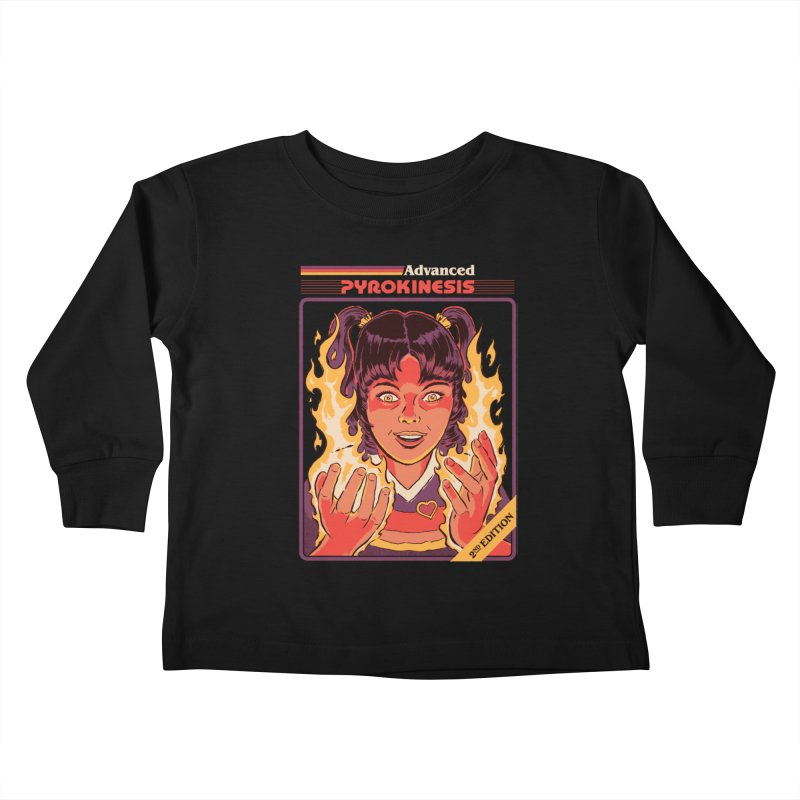 Advanced Pyrokinesis Kids Toddler Longsleeve T-Shirt by Steven Rhodes