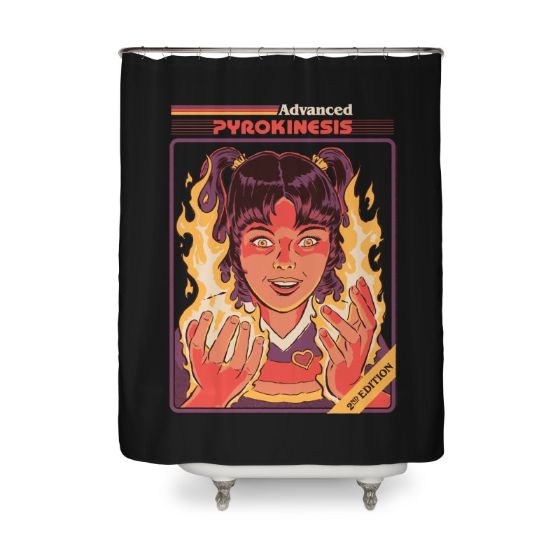 Advanced Pyrokinesis Home Shower Curtain by Steven Rhodes