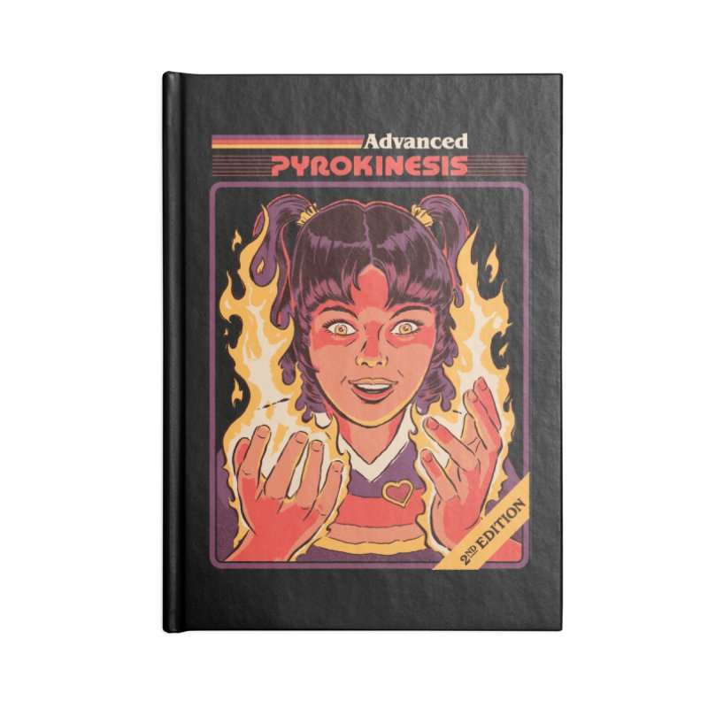 Advanced Pyrokinesis Accessories Lined Journal Notebook by Steven Rhodes