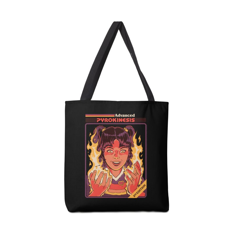 Advanced Pyrokinesis Accessories Tote Bag Bag by Steven Rhodes