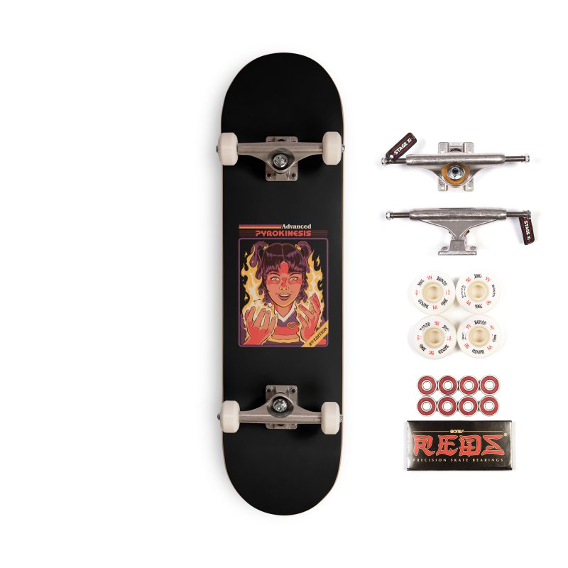 Advanced Pyrokinesis Accessories Complete - Pro Skateboard by Steven Rhodes