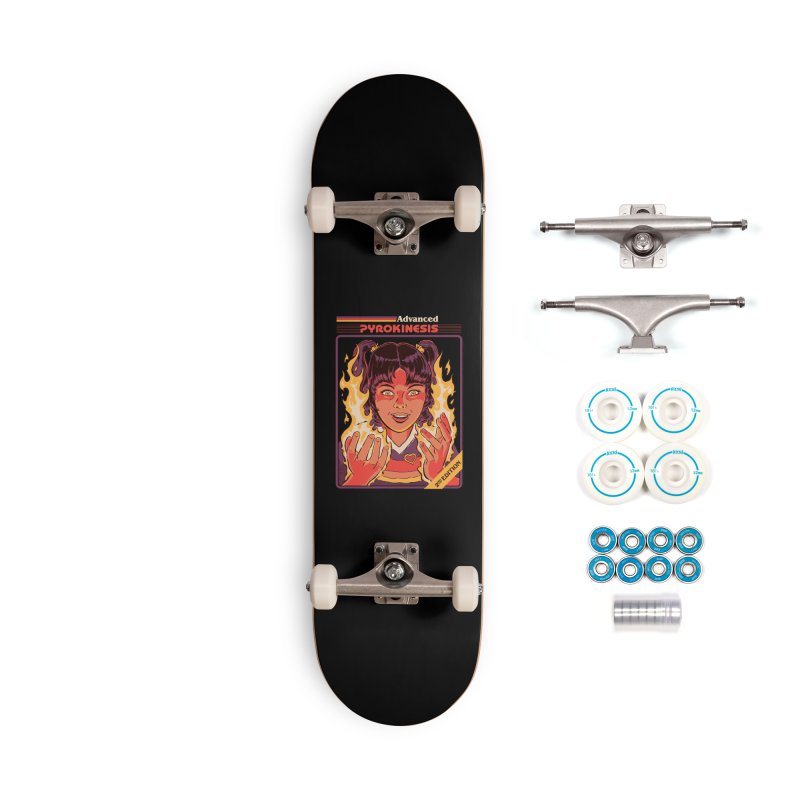 Advanced Pyrokinesis Accessories Complete - Basic Skateboard by Steven Rhodes