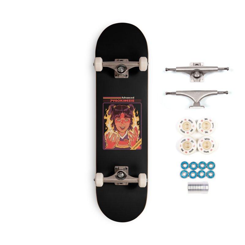 Advanced Pyrokinesis Accessories Complete - Premium Skateboard by Steven Rhodes