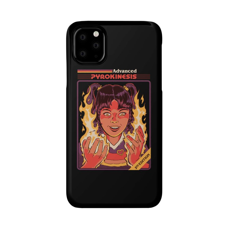 Advanced Pyrokinesis Accessories Phone Case by Steven Rhodes