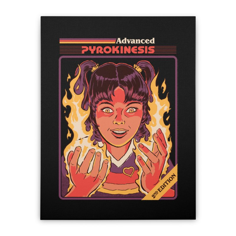 Advanced Pyrokinesis Home Stretched Canvas by Steven Rhodes