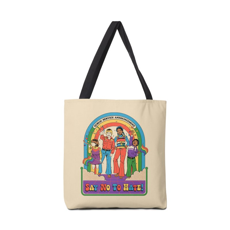 Say No To Hate Accessories Tote Bag Bag by Steven Rhodes