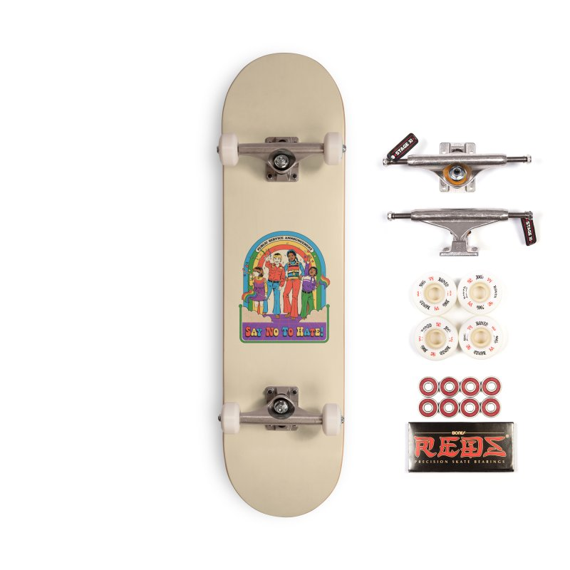 Say No To Hate Accessories Complete - Pro Skateboard by Steven Rhodes