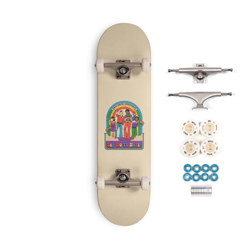 Say No To Hate Accessories Complete - Premium Skateboard by Steven Rhodes