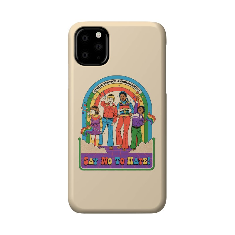 Say No To Hate Accessories Phone Case by Steven Rhodes