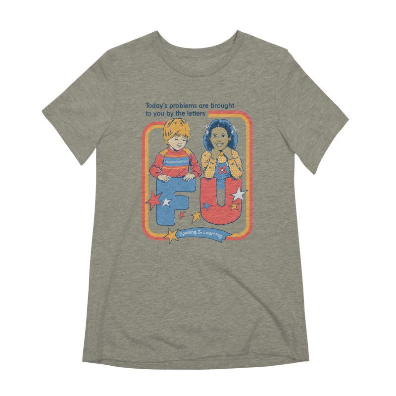Today's Problems Women's Extra Soft T-Shirt by Steven Rhodes