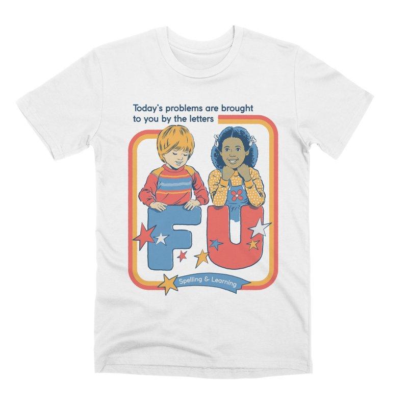 Today's Problems Men's Premium T-Shirt by Steven Rhodes