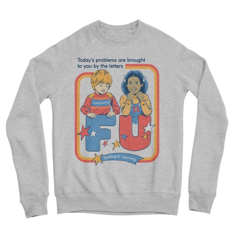 Today's Problems Men's Sponge Fleece Sweatshirt by Steven Rhodes