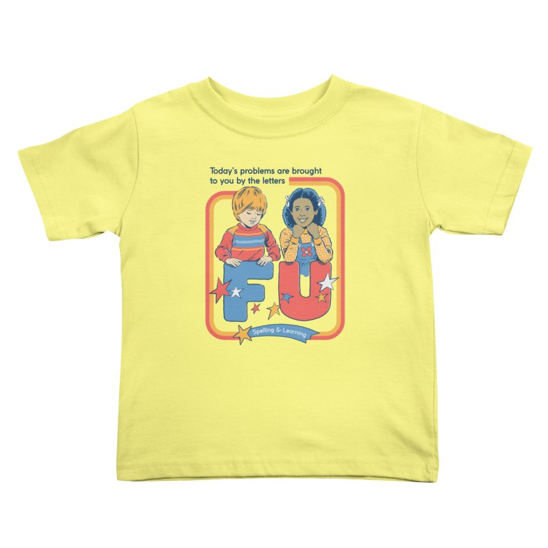 Today's Problems Kids Toddler T-Shirt by Steven Rhodes