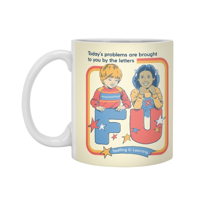 Today's Problems Accessories Standard Mug by Steven Rhodes