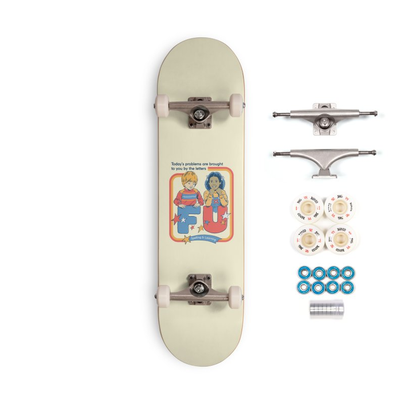 Today's Problems Accessories Complete - Premium Skateboard by Steven Rhodes