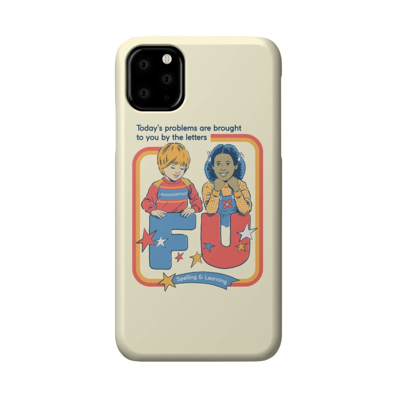 Today's Problems Accessories Phone Case by Steven Rhodes