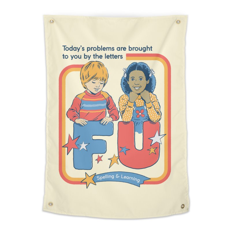 Today's Problems Home Tapestry by Steven Rhodes