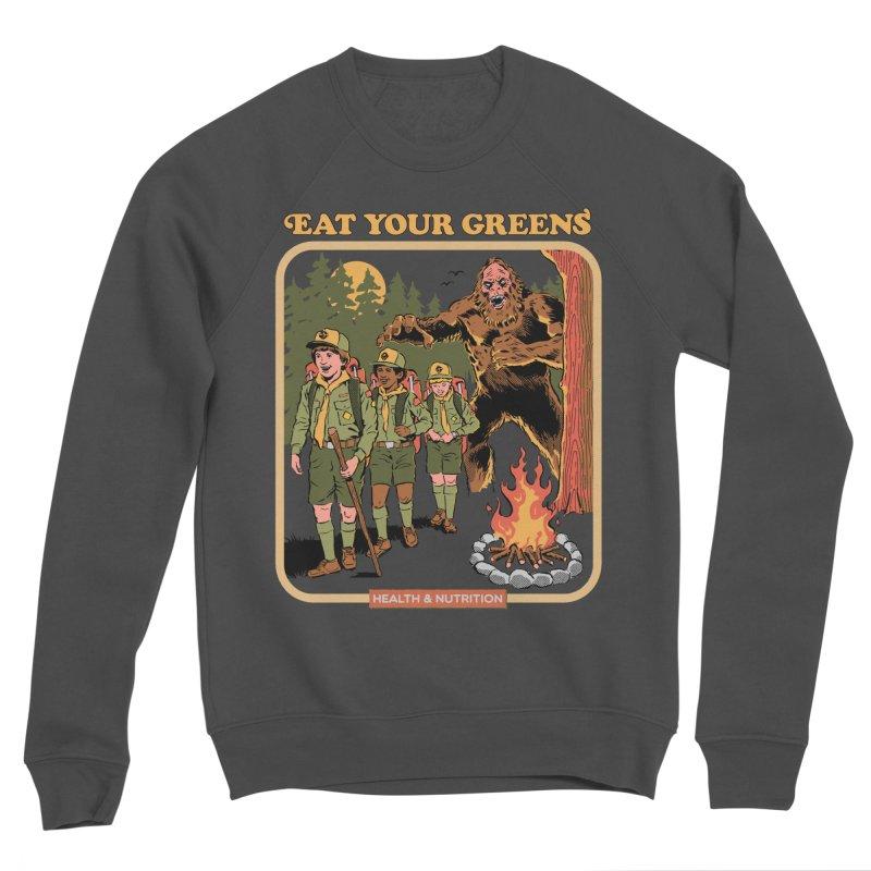 Eat Your Greens Women's Sponge Fleece Sweatshirt by Steven Rhodes