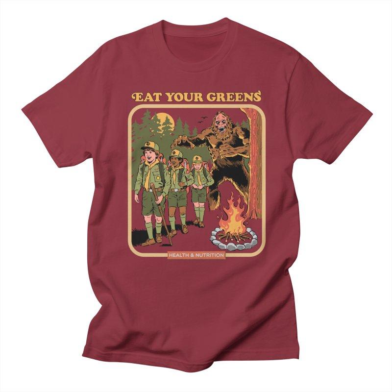 Eat Your Greens Women's Regular Unisex T-Shirt by Steven Rhodes