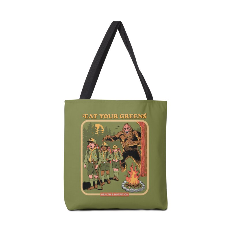 Eat Your Greens Accessories Tote Bag Bag by Steven Rhodes