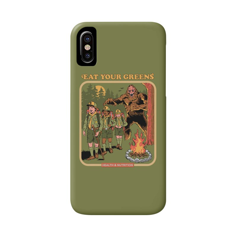 Eat Your Greens Accessories Phone Case by Steven Rhodes