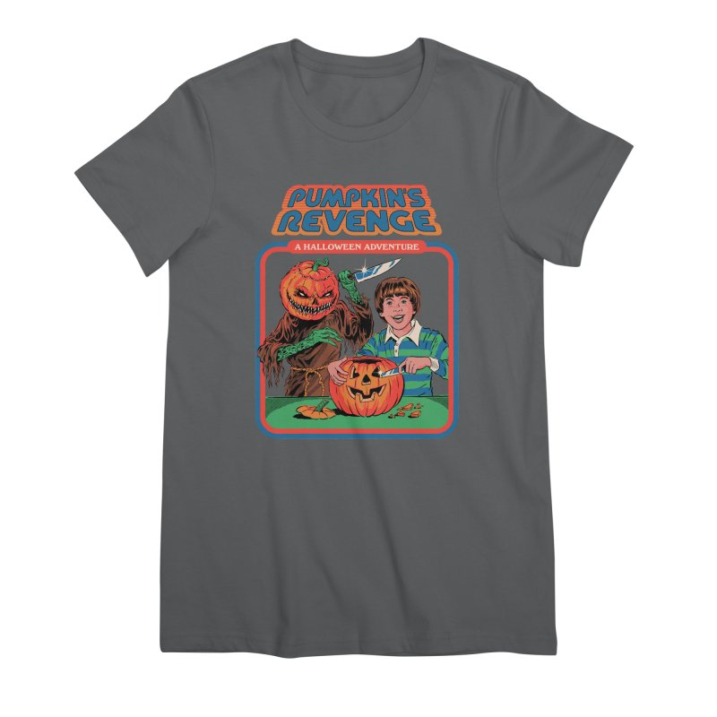 Pumpkin's Revenge Women's Premium T-Shirt by Steven Rhodes