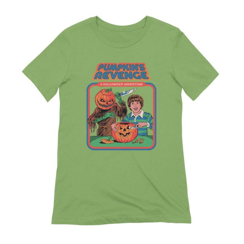 Pumpkin's Revenge Women's Extra Soft T-Shirt by Steven Rhodes