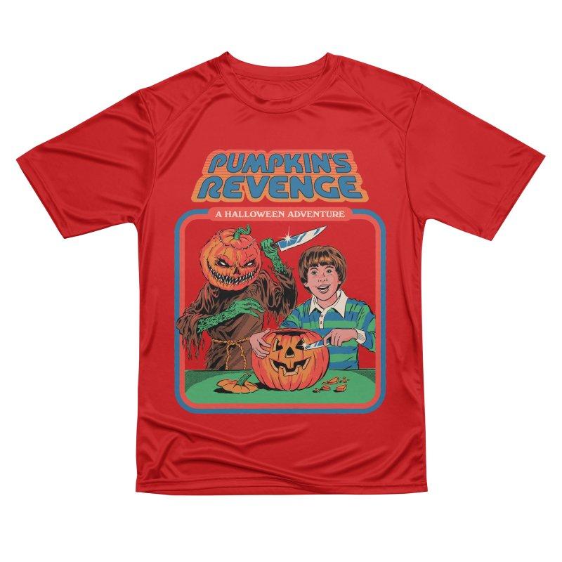 Pumpkin's Revenge Women's Performance Unisex T-Shirt by Steven Rhodes