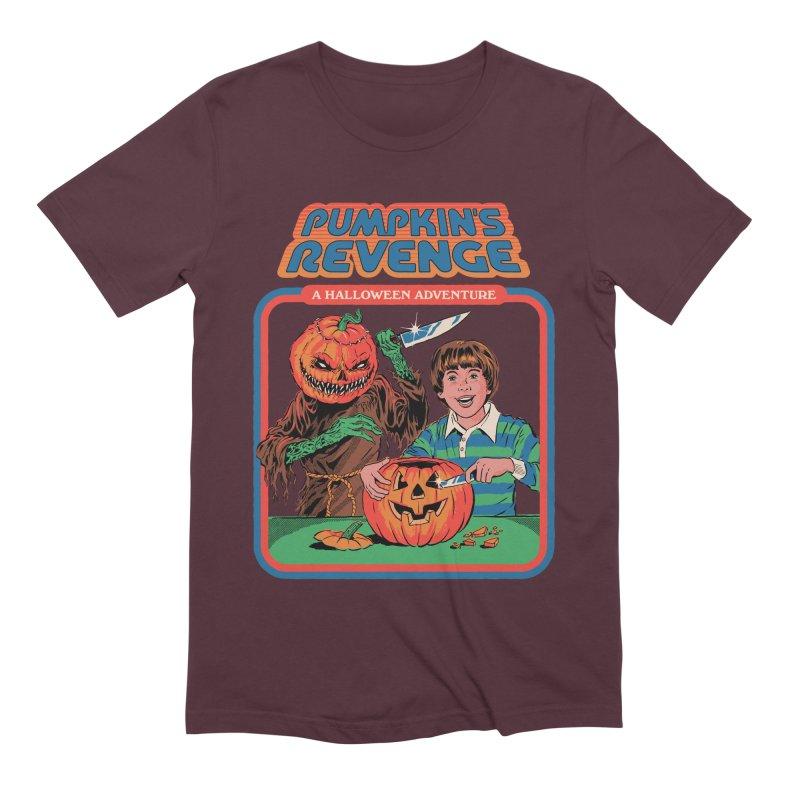 Pumpkin's Revenge Men's Extra Soft T-Shirt by Steven Rhodes