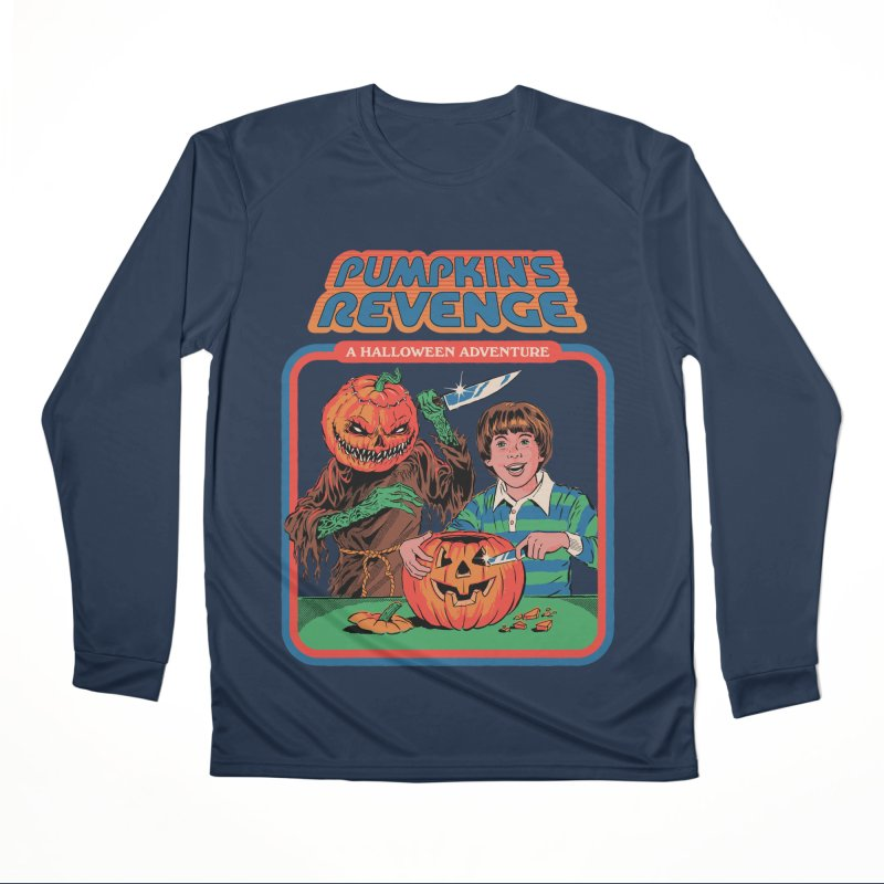 Pumpkin's Revenge Women's Performance Unisex Longsleeve T-Shirt by Steven Rhodes