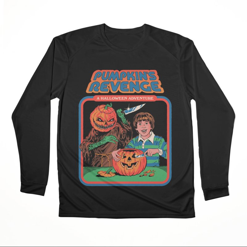 Pumpkin's Revenge Men's Performance Longsleeve T-Shirt by Steven Rhodes