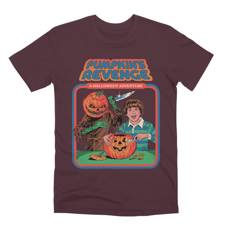 Pumpkin's Revenge Men's Premium T-Shirt by Steven Rhodes