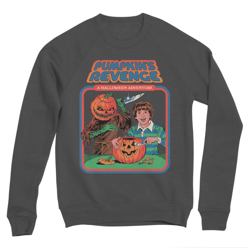 Pumpkin's Revenge Women's Sponge Fleece Sweatshirt by Steven Rhodes