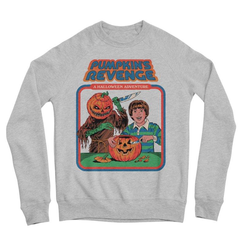Pumpkin's Revenge Men's Sponge Fleece Sweatshirt by Steven Rhodes