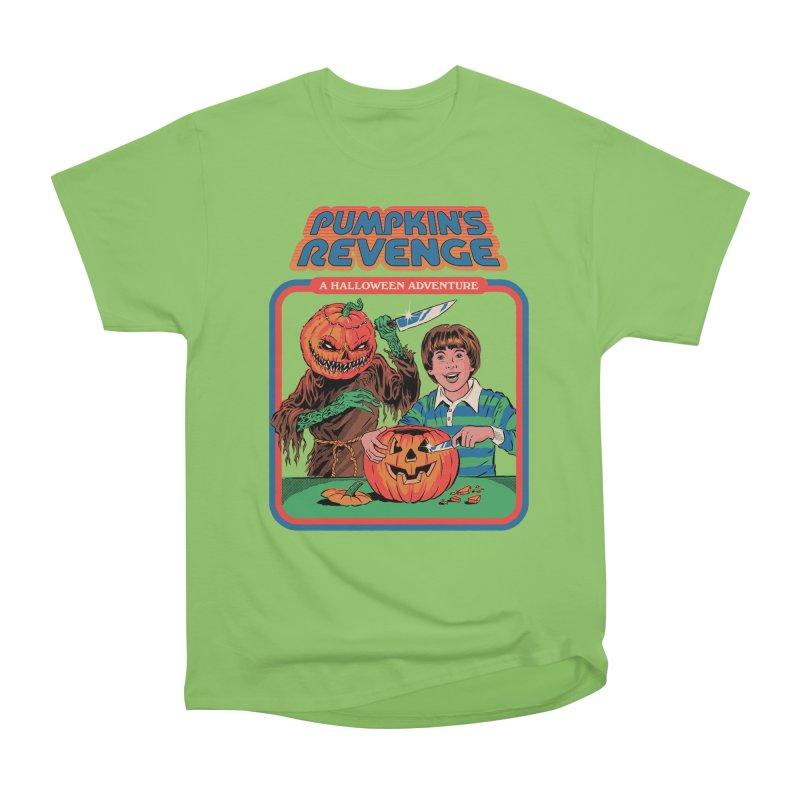 Pumpkin's Revenge Women's Heavyweight Unisex T-Shirt by Steven Rhodes