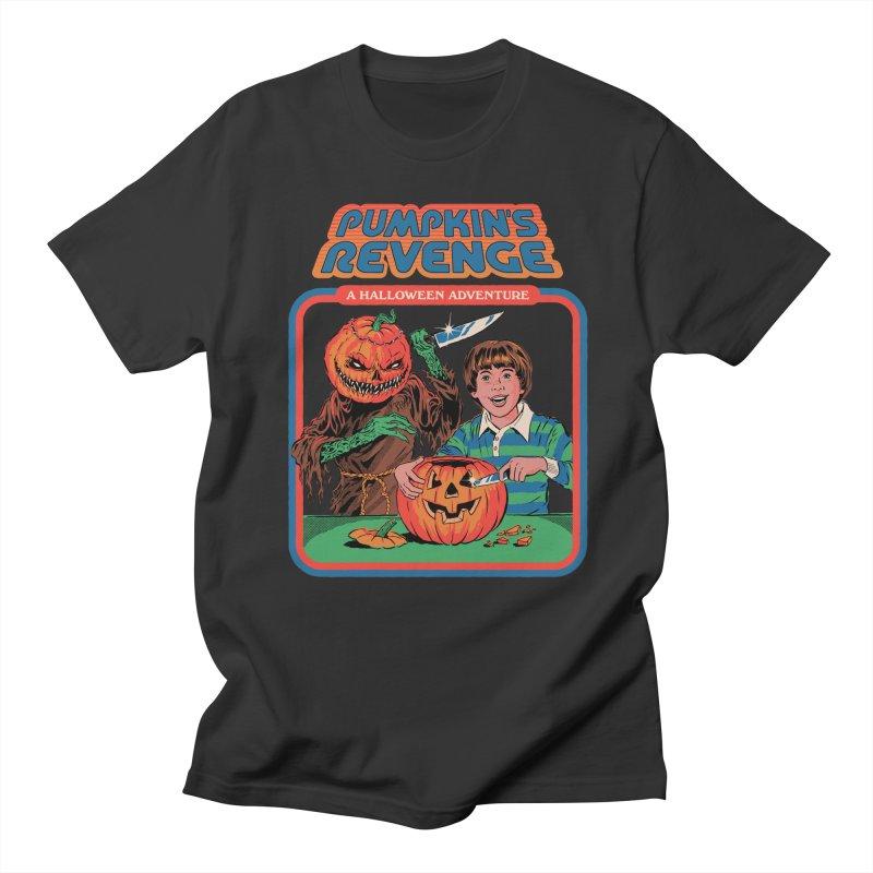 Pumpkin's Revenge Men's Regular T-Shirt by Steven Rhodes