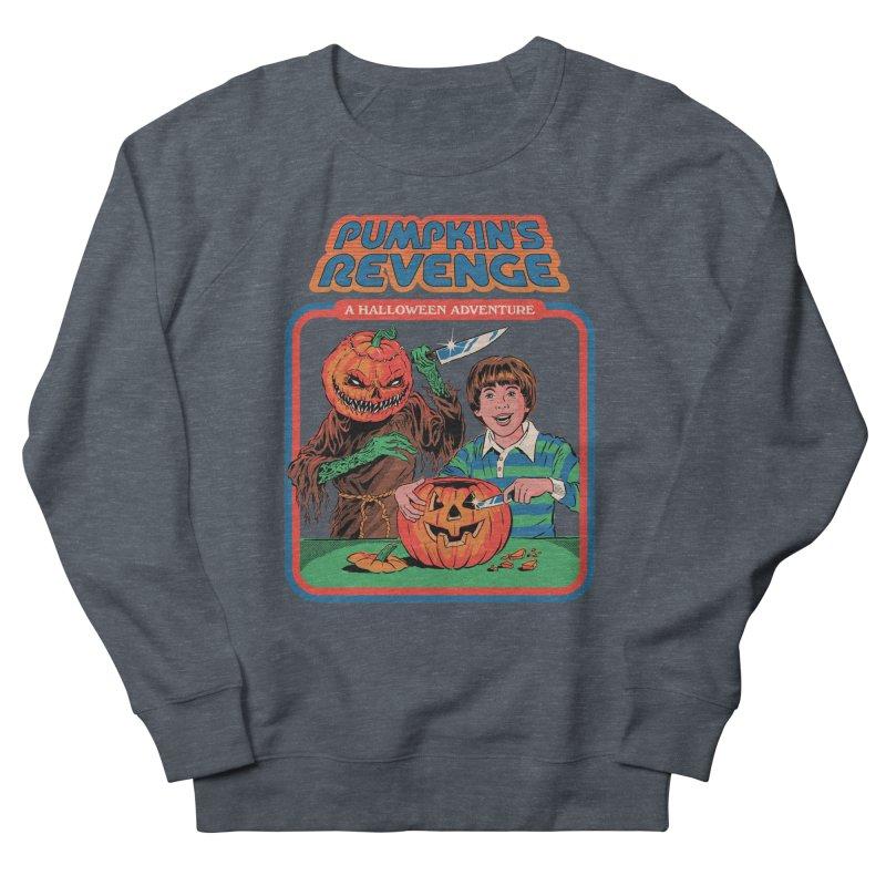 Pumpkin's Revenge Women's French Terry Sweatshirt by Steven Rhodes